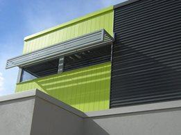 Innova™ Duragroove™ vertically grooved exterior façade panel