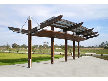 Park and Urban Shelters for Public Use from Landmark Products l jpg