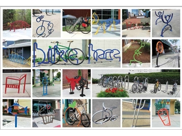Bicycle Racks for Public Environments from Etcetera