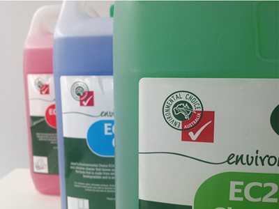 ENV PRODUCTS Choose GECA certification for non toxic cleaning solutions