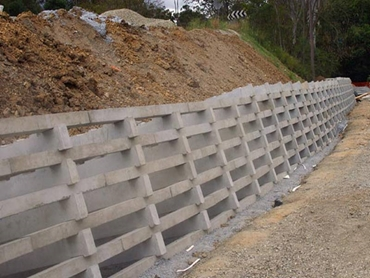 Concrete Crib Wall