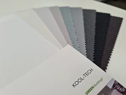 Kool-Tech roller blind fabric