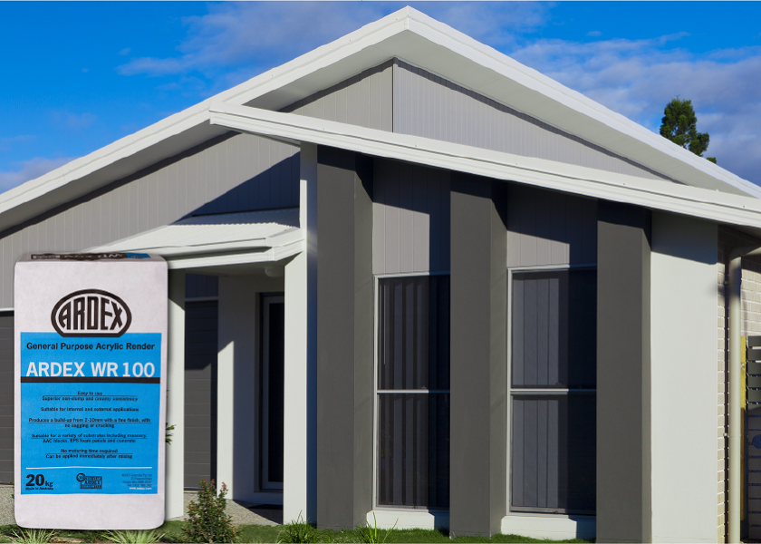 ARDEX Façade Render Range – The complete system for all your render needs
