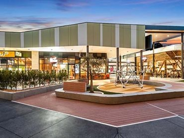 Leopold's Gateway Plaza features a high impact contemporary design