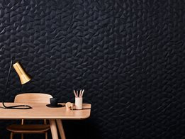 Acoustic embossed panels from Woven Image