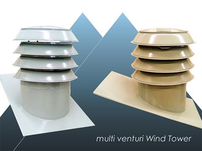 Condor WindTower residential rooftop ventilation