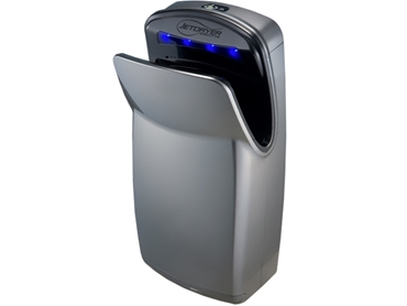 High speed hand dryers designed for bathroom applications