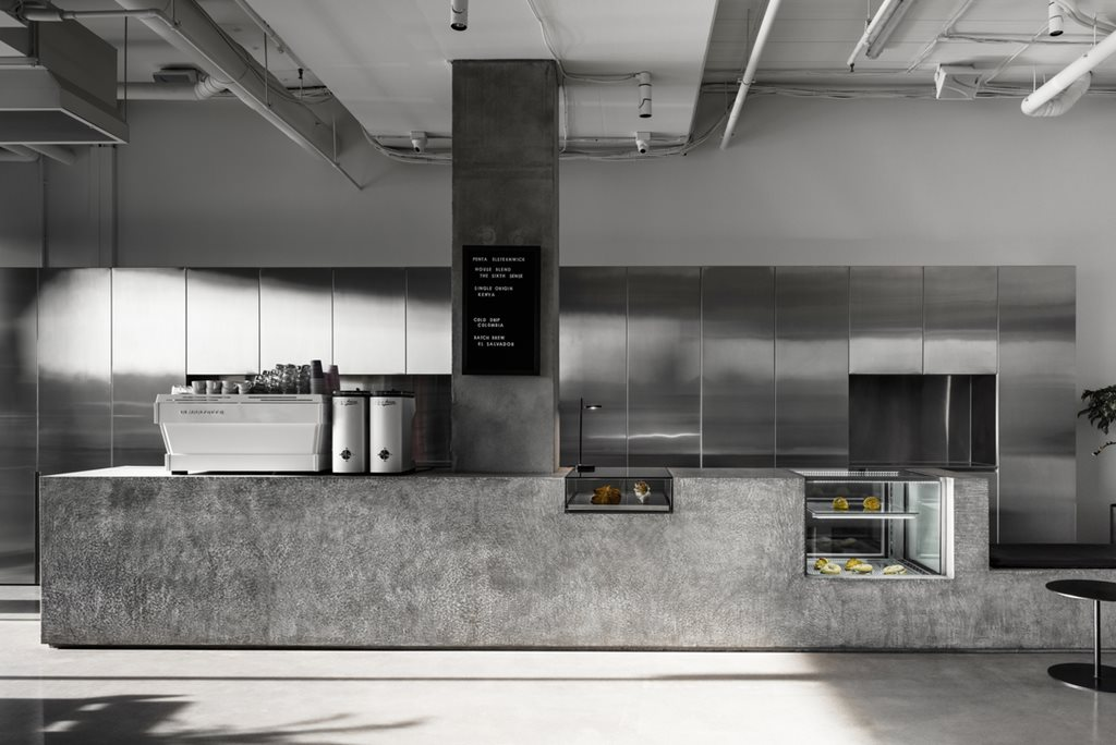 Concrete Perforated Aluminium And Terrazzo Star In