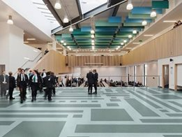 ​Polysafe Verona: Offers more decorative choice when it comes to safety flooring