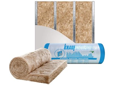 Knauf Insulation acoustic partition non combustible acoustic insulation solutions