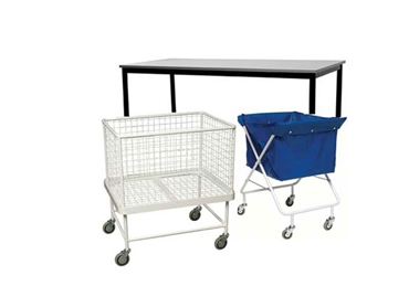 Commercial Laundry  Auxilaries - Trolleys, Bags, Racks and Frames from Electrlux Laundry Systems