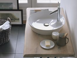 Duravit Cape Cod Washbowl: Designed by Philippe Starck