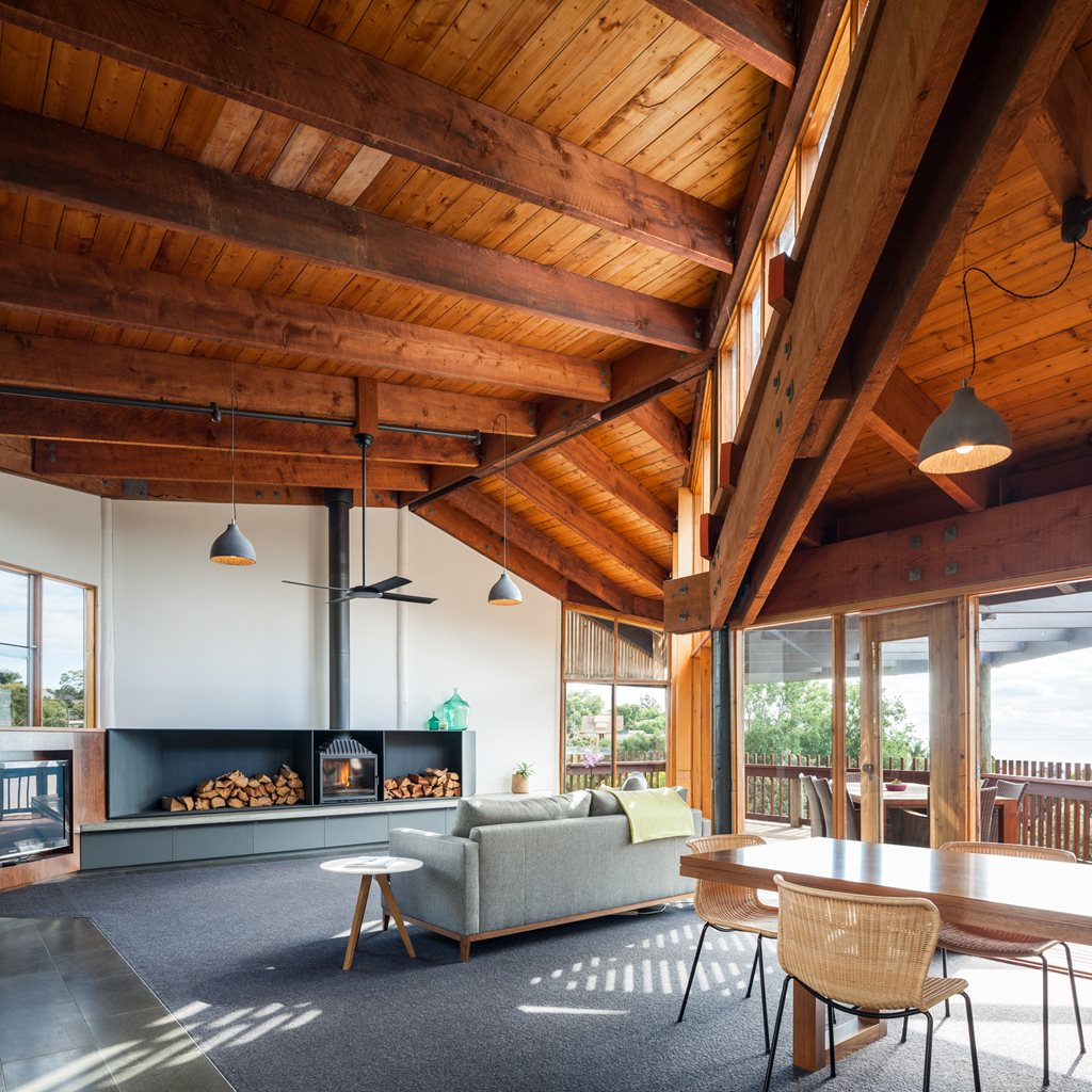 Alteration of iconic post and beam dwelling in victoria architecture and design - The elegance and functionality of cantilever architectural design ...