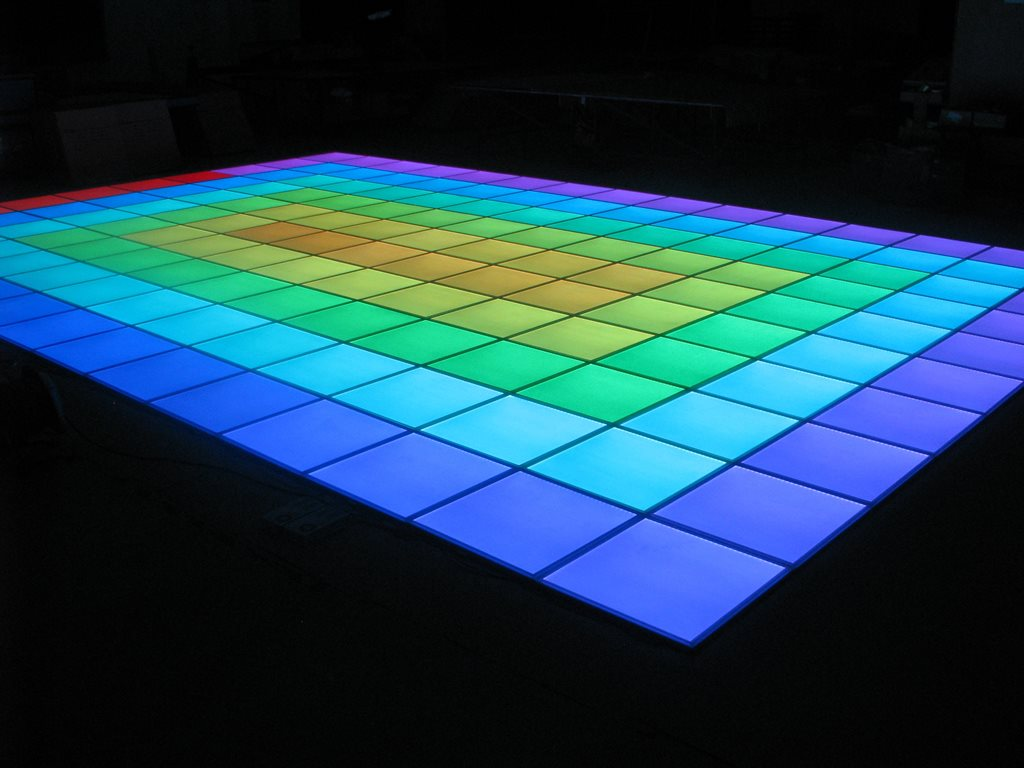 Skile innovative floor light panels