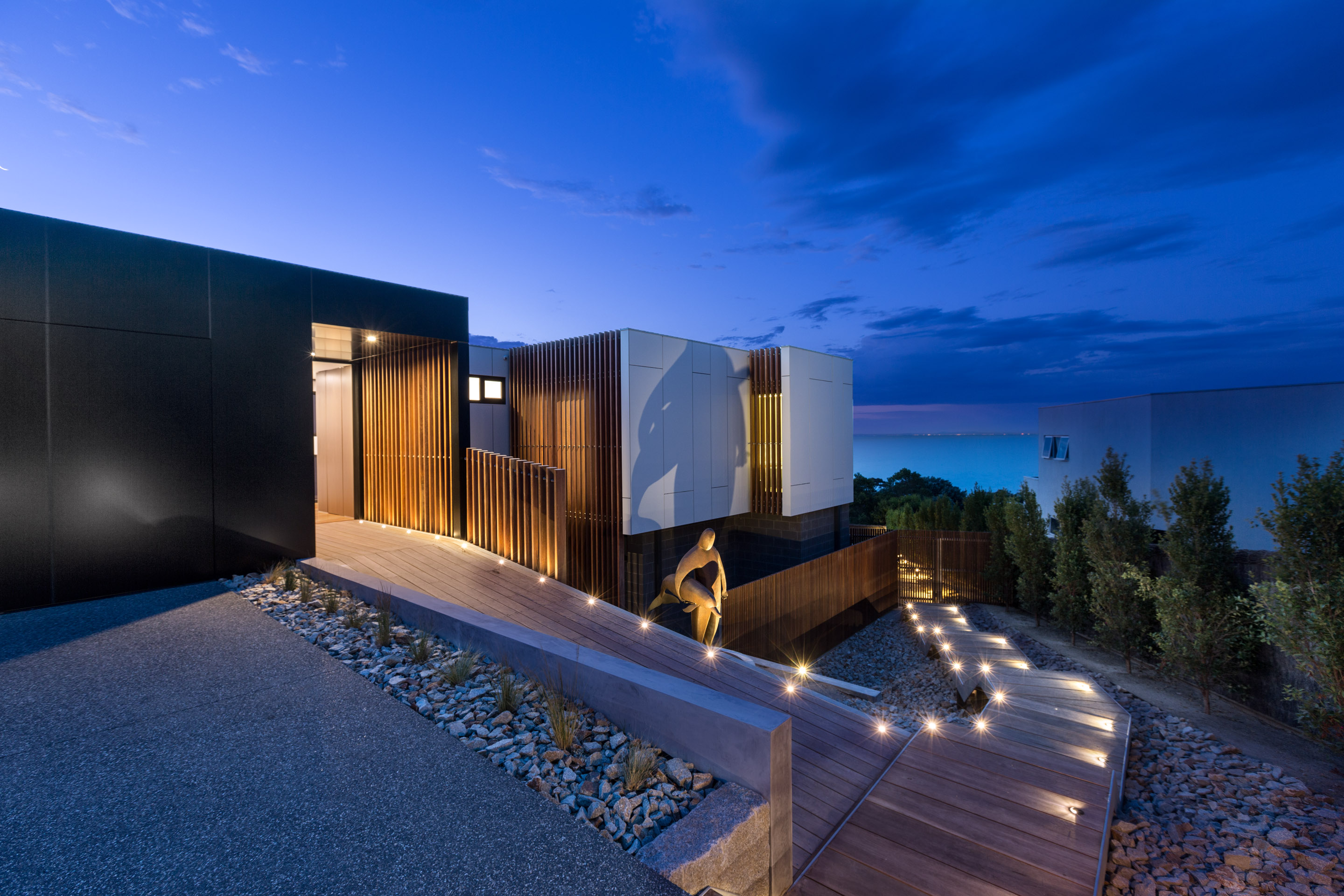 Mornington Peninsula luxury durable house entry