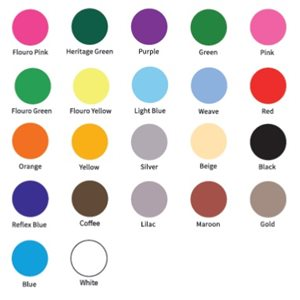 Colour Keyhead Chart