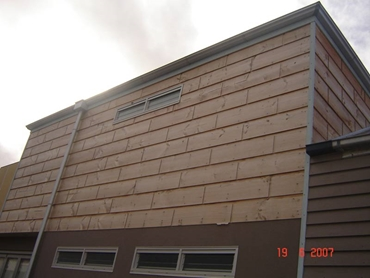 House with Block Weatherboards