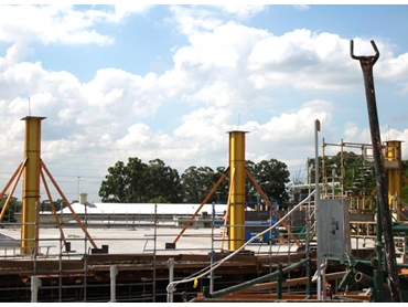 Ezytube the Column Forming Tube Experts in Pour Down and Pour Up Concrete Technology