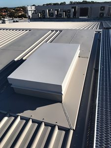 Aluminium Roof Hatch Simple Practical And Cost Effective