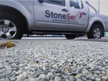 StoneSet Porous Paving - hard wearing, low maintenance solution for all water sensitive urban design
