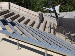 ​Quality Spectator Seating from BAB Aluminium