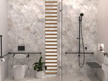 Avail's accessible bathroom products include grab rails, shower seats and toilet backrests