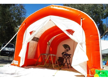 Temporary Inflatable Buildings and Inflatable Workshops from Inflate l jpg