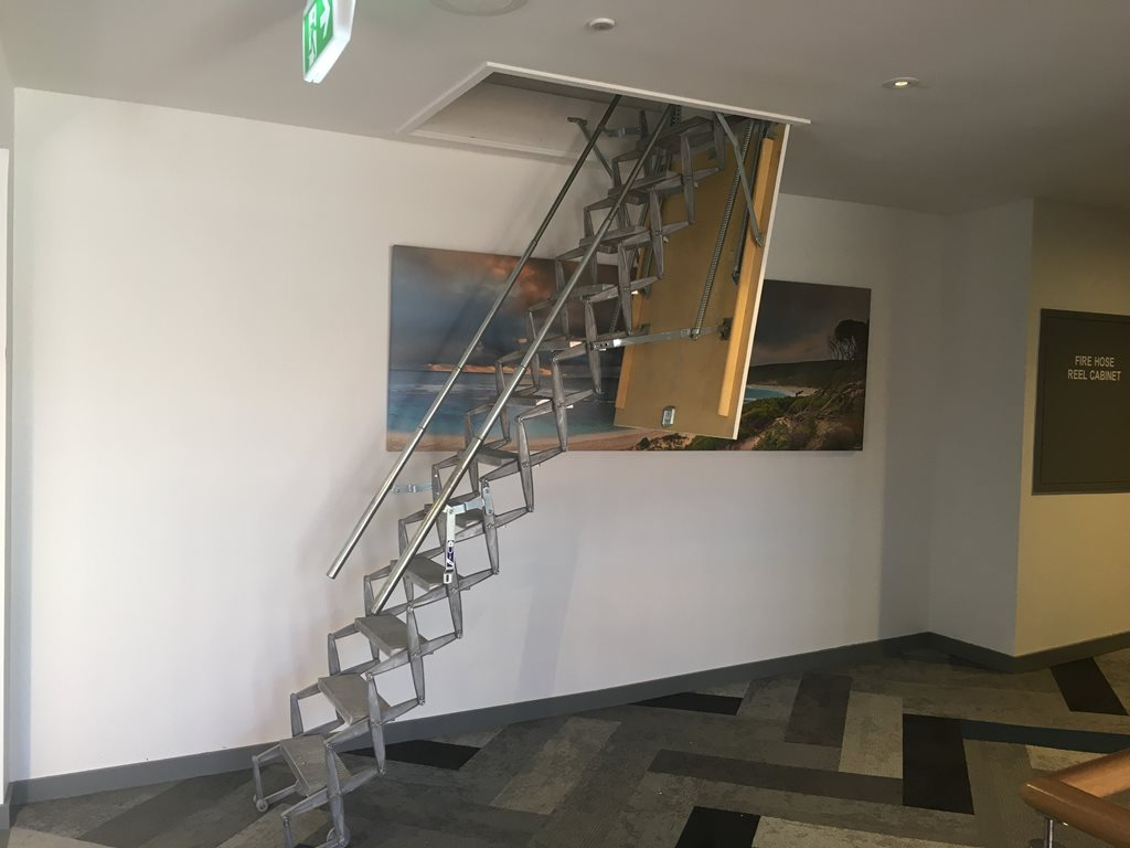 Scissor Stairs: A sturdy and innovative access system