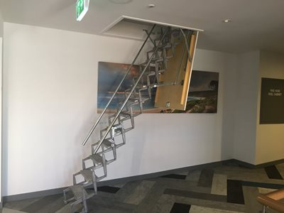 Scissor Stairs A Sturdy And Innovative Access System