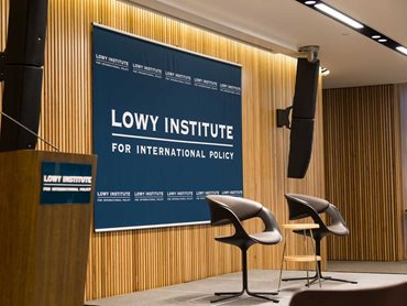 Lowy Institute featuring Screenwood Blackbutt panels