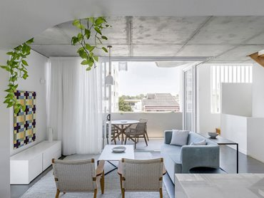 Apartment or Unit; Open Architecture Studio and Jasper Brown Architects for Cooma Terrace Townhouses, Caloundra; Photography: Cathy Schusler