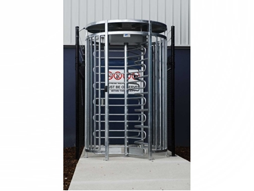 Efficient Turnstiles and Control Pillars from Magnetic Automation