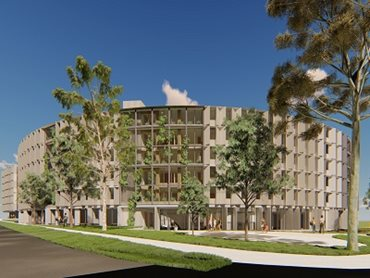 The buildings will be built utilising the mass timber construction method
