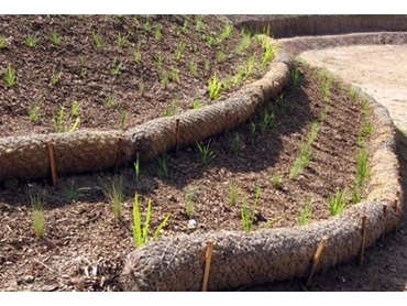Biodegradable Matting And Mesh For Erosion And Sediment
