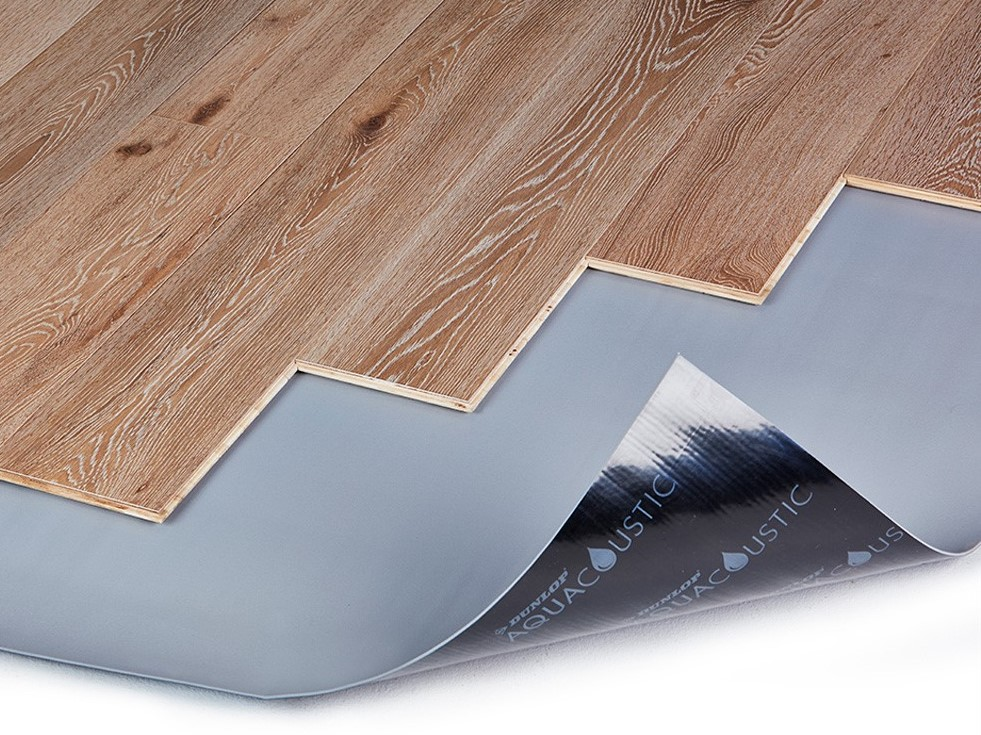 Set a solid foundation with Dunlop's hard flooring underlay for timber, laminate and vinyl floors