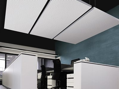 Cleaneo Acoustic Panels Commercial Interior