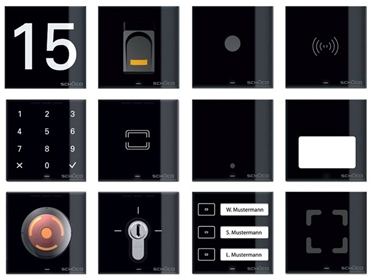 Schüco DCS advanced electronic door management system