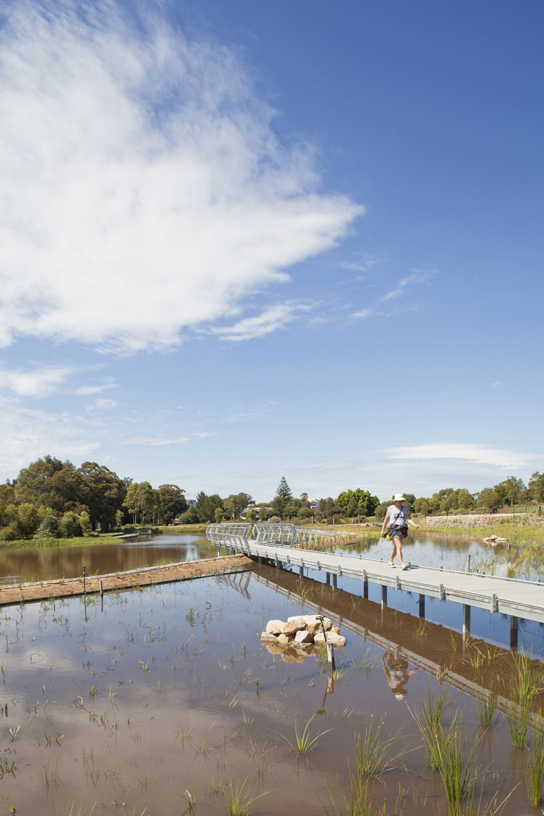 Sydney Park Water Re Use Project By Turf Design Studio And