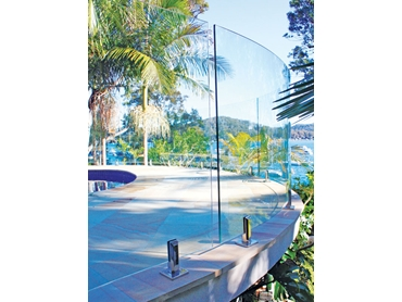 Frameless Glass Fencing from Dimension One Glass Fencing l jpg