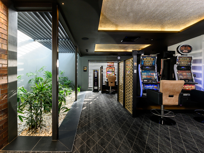 Town Hall Hotel upgrade interior gaming extension