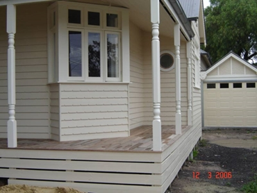 Custom V Notch Weatherboard from Healy s Building Services l jpg