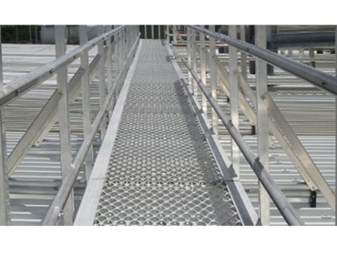 Rooftop Walkways and Platforms Monkey Toe®  System from Adex