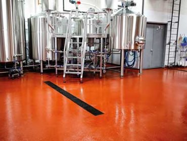 Pale Fire Brewing Company with Flowfresh flooring from Flowcrete