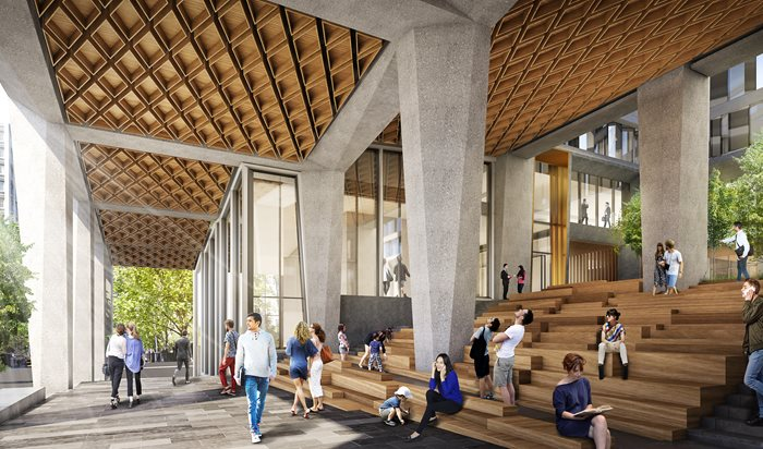 shop architects woods bagot urban melbourne