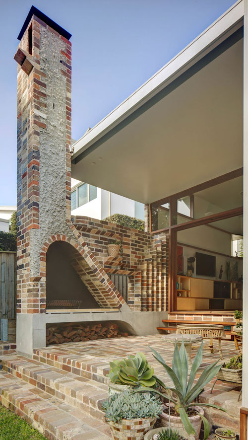 Freshwater art house brickwork