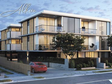 HVG facades Zintl cladding featured in Akira apartments