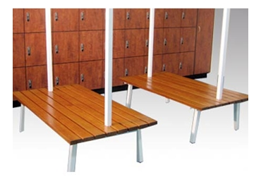 Bench Seating for Locker Rooms from Excel Lockers l jpg