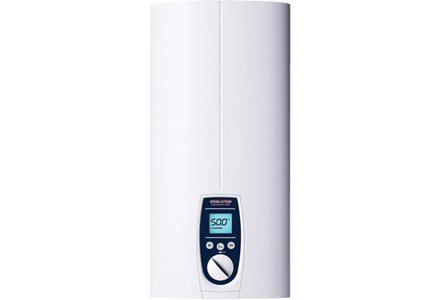 3 phase electric instantaneous water heaters: DEL 18 AU and DEL 27 AU