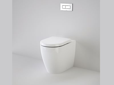 Caroma concealed cistern with adjustable flushpipe Urbane Cleanflush