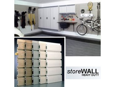 Garage Storage and Organisation Panel Systems from Garageworks